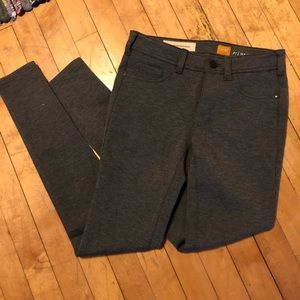 NWOT Anthropologie Pilcro gray ponte jeggings
